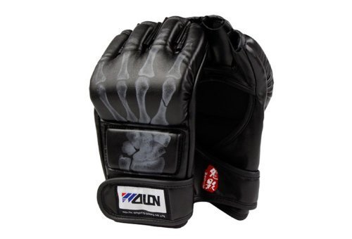 Solid Boxing Gloves Half Finger MMA Combat Gloves UFC for sale  Delivered anywhere in USA