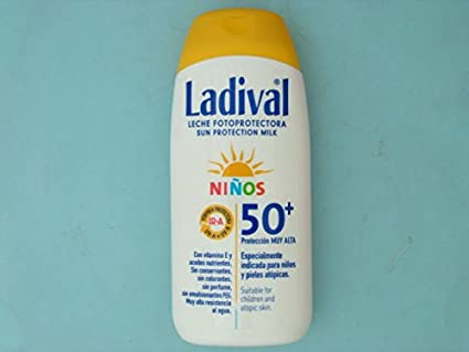 LADIVAL NIÑOS FPS 50+ 200 ML LECHE