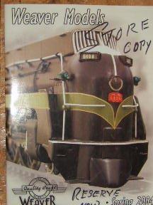 weaver model trains - 9