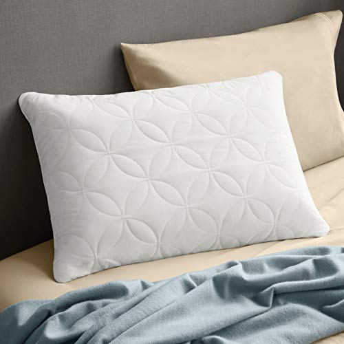 Tempur-Pedic TEMPUR-Cloud Conforming Queen Size Pillow, Soft Support Washable Cover, Assembled in The USA, 5 YR Warranty, White