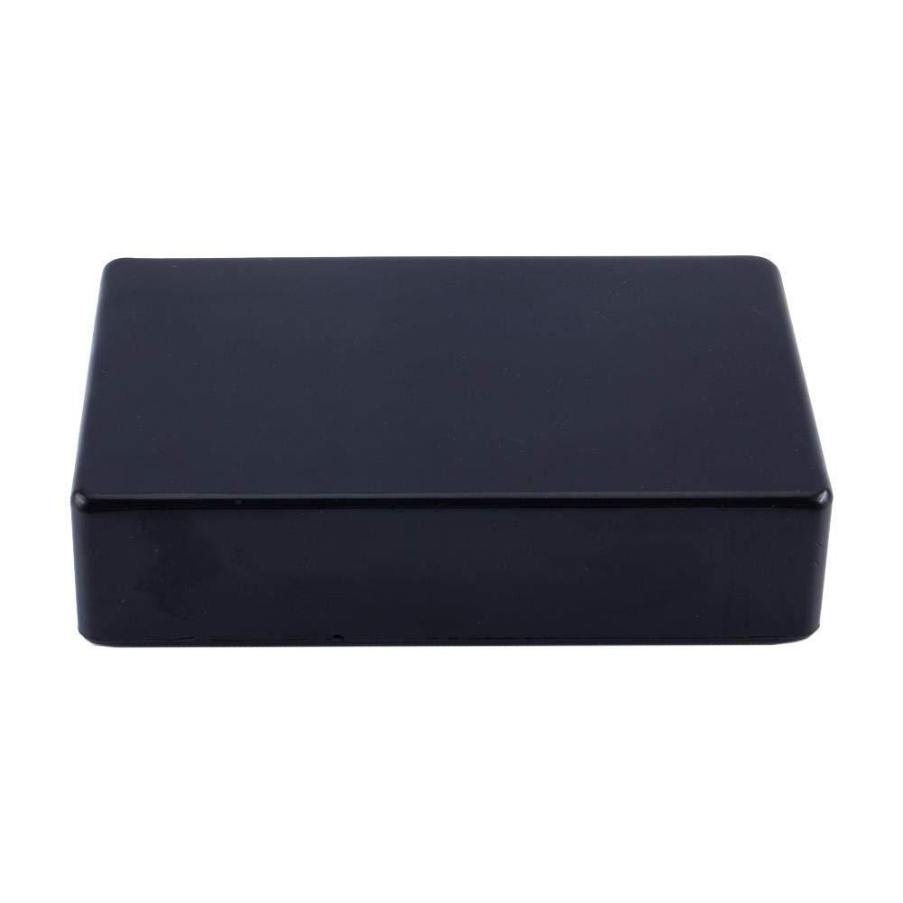 25mm Plastico Negro Fydun Caja de conexiones de potencia Cajas de electricidad empalmes Proyecto de caja de instrumentos 100 60