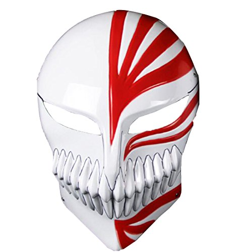 (Poetic Walk Bleach Kurosaki Ichigo Mask Halloween Cosplay Pro (One Size(117.5in),)