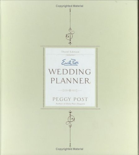Emily Post's Wedding Planner