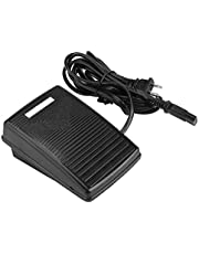 Foot Control Pedal, Home Sewing Machine or Pedal Foot Switch, Foot Control Action Switch Pedal with Power Cord Compatible with Kinds of Sewing Machine(US Plug 110V)