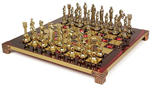 (Renaissance Chess Set Package - Red)