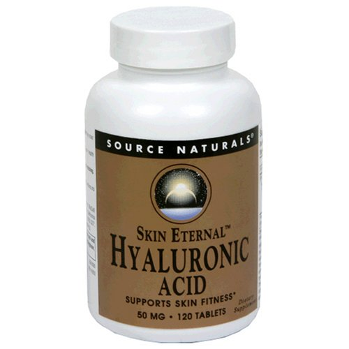 Source Skin Naturals Acide Hyaluronique éternel, 50mg, 120 Comprimés
