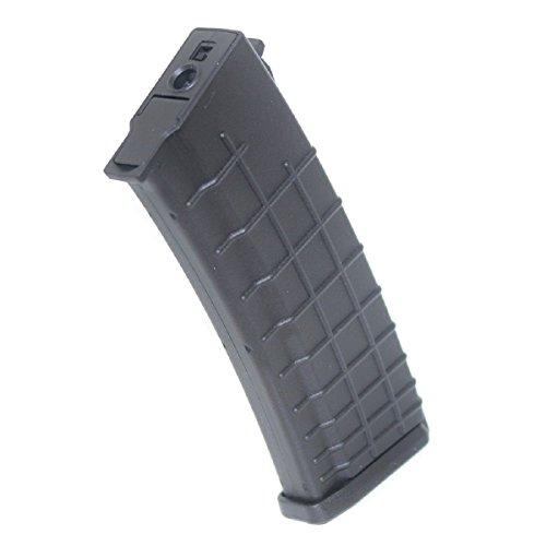 Airsoft Shooting Gear CYMA 450rd Hi-Cap Waffle Magazine for AK-Series AEG BK