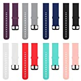 TECKMICO 8PCS Bands Replacement for Amazfit Bip