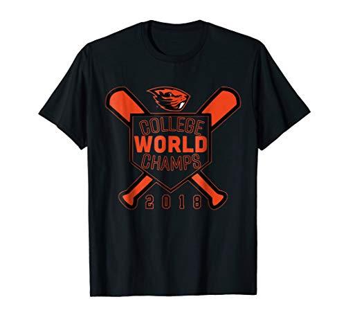 Oregon State Beavers 2018 Baseball Champs! T-Shirt