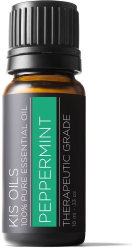 Peppermint 100% Pure Essential Oil Therapeutic Grade- 10 Ml (Peppermint, ()