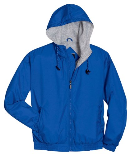 Youth TInterior Storm Flap Triumph Jacket, Royal/Ash Heather, X-Large by Holloway