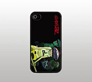 Gorillaz Band Snap-On Case for Apple iPhone 5 - Hard Plastic - Black - Cool Custom Cover - Music Cover