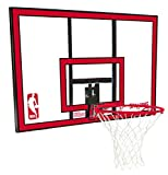 Spalding 79351 Backboard/Rim Combo with 44 Inch Poly Carbonate Backboard