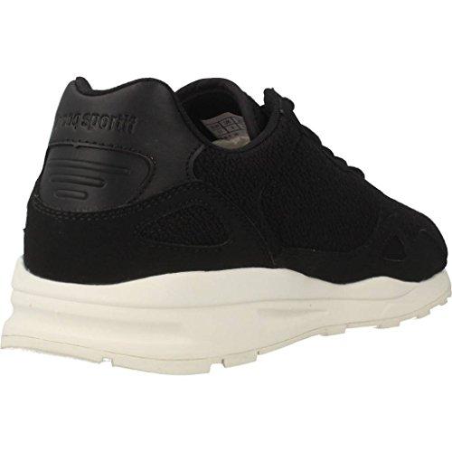 Calzado deportivo para mujer, color Negro , marca LE COQ SPORTIF, modelo Calzado Deportivo Para Mujer LE COQ SPORTIF LCS R900 W WOOL MESH Negro Negro