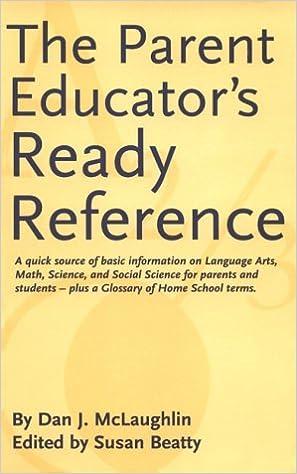 Read online The Parent Educator's Ready Reference PDF, azw (Kindle), ePub, doc, mobi