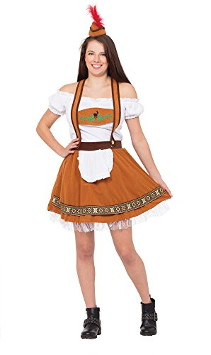 German Bar Girl Costume Uk (Ladies German Country Bar Girl)