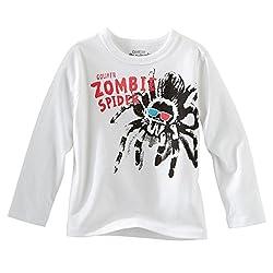 OshKosh B'gosh Baby-Toddler L/S Goliath Zombie Spider Glow-in-the-Dark Tee (24 Months)