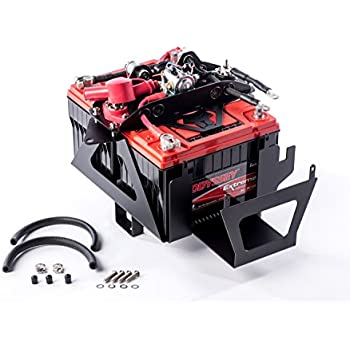Jeep Wrangler Jk 07-11 Dual Battery Tray Rugged Ridge  X 11214.53