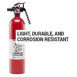 Kidde FA110 Multi Purpose Fire Extinguisher 1A10BC, 2-pack