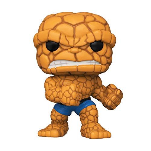 Funko- Pop Marvel Fantastic Four-The Thing Collectible Toy, Multicolor (44988)