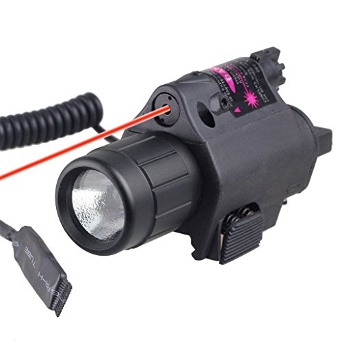 Laserlyte Center Mass Green Laser Sight: Lasertac Rechargeable Subcompact Green Laser Sight Light