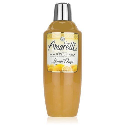 Amoretti Premium Martini Cocktail Mix, Lemon Drop, 28 Ounce by Amoretti by Amoretti