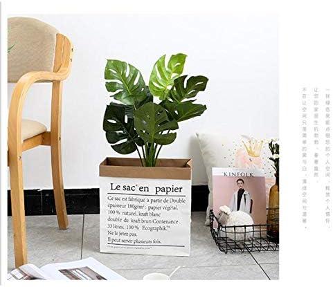Grande Taille ,1 pi/èce DaoRier Ins Style id/ées de Mode Kraft Papier Sac de Rangement en Papier Kraft Sac en Papier d/écoration dornement Nordique