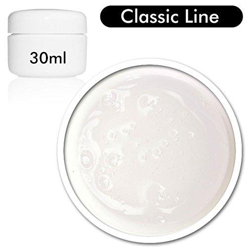 Gel UV/LED Super Clear 30ml - MUY ESPESO - Gel reconstructor espeso - Color transparente Blucc Style