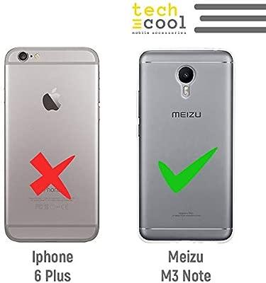 Funnytech® Funda Silicona para Meizu M3 Note [Gel Silicona ...
