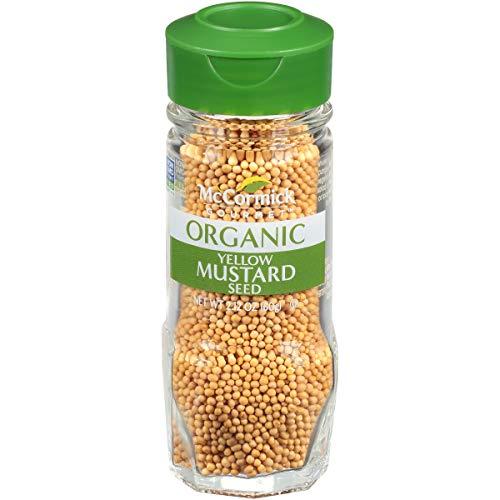 - McCormick Gourmet Organic Yellow Mustard Seed, 2.12 oz