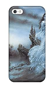 Protective Tpu Case With Fashion Design For Iphone 5/5s (vampires Cartoon Paint Book Novels Anime Other)