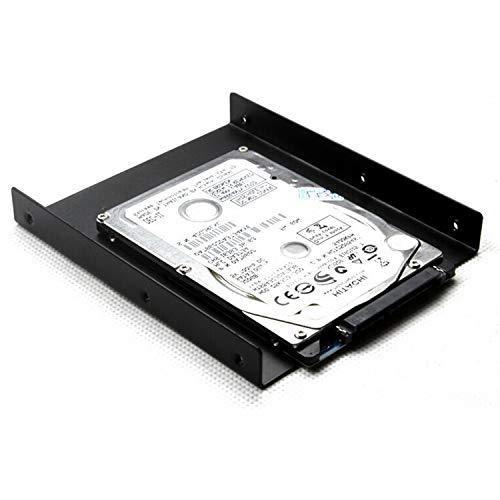 SAISN HDD/SSD Mounting Bracket, 2.5 to 3.5 Adapter, Hard Drive Holder (Single Drive, 2 Pack) by SAISN (Image #5)