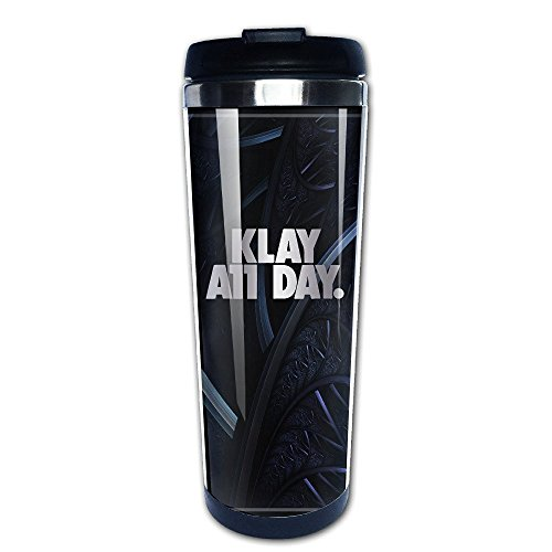 Stainless Steel Klay All Day Platinum Style Tumbler Coffee Mug
