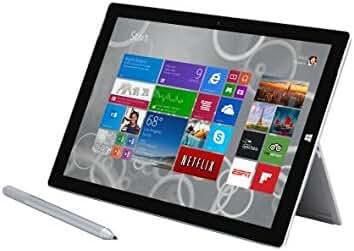 Microsoft Surface Pro 3 Intel Core i5 4300U 1.9GHz 4GB RAM 128GB HDD Windows 8 Professional 64-bit Tablet PC QK2-00015