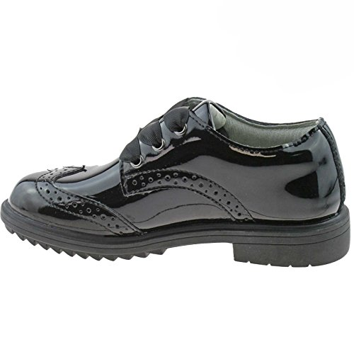 LK8272 School Black F Patent Kara Lelli Fitting 5 Kelly Shoes 2 UK 35 DB01 q5UwU4Yx