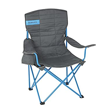 Kelty Essential Chair, Smoke/Paradise Blue