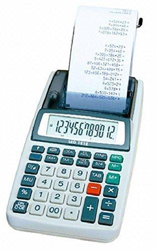 Leo 1212 - Calculadora (Impresora Incluye Fuente De ...