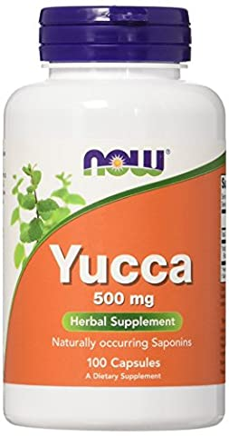 NOW Foods, YUCCA 500mg 100 CAPS (Desert Pure Yucca)