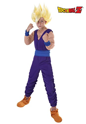 Super Saiyan Gohan Costume (Big Boys' Gohan Costume Small (4-6))