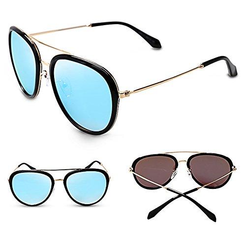 Gafas sol de protectoras Gafas exteriores SSSX B para UV400 Gafas sol 100 mujer polarizadas de de B Color sol Gafas sol para conducir de para qqX0f