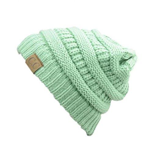 [Sage_Winter Hat Cap Fashion Cap- outdoor skiing (US Seller)] (Jumbo Hip Hop Adult Hat)