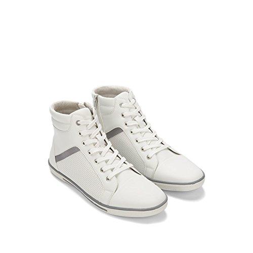 Reaksjonen Kenneth Cole Hele Krone Opp Sneaker - Menns - Hvit