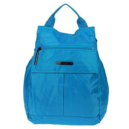 Daniel Ray - Bolso mochila para mujer Marrón azul azul