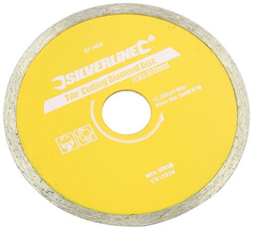 - Silverline Tile Cutting Diamond Disc 110 x 22.2mm