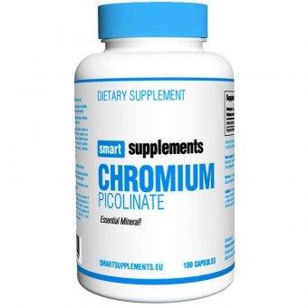 Smart Supplements Picolinato de Cromo - 100 Cápsulas
