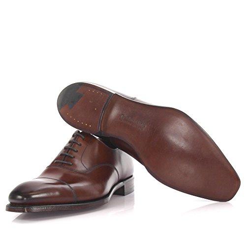 Crockett & Jones Oxford Harewood 2 Leder Braun Goodyear