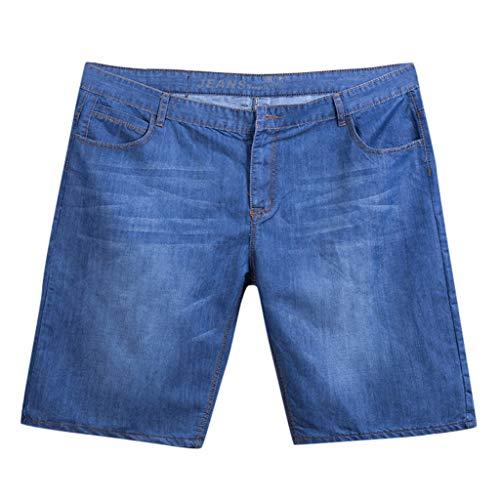 Jean Shorts Men Summer Jeans Skate Board Harem Fashion Plus Size Pants