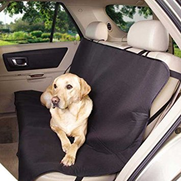 Guardian Gear Classic Car Seat Covers - Protective Car Seat Covers for traveling with Dogs, Black (Pet Gear Dog Booster Car Seat)