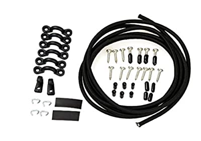Jezero Bungee Deck Kit for Kayaks, Canoes and Much More