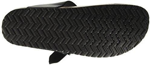 Geox de Blackc9999 negras Men Dalmazio F punta abierta de Sandalias U UZw8fRRq
